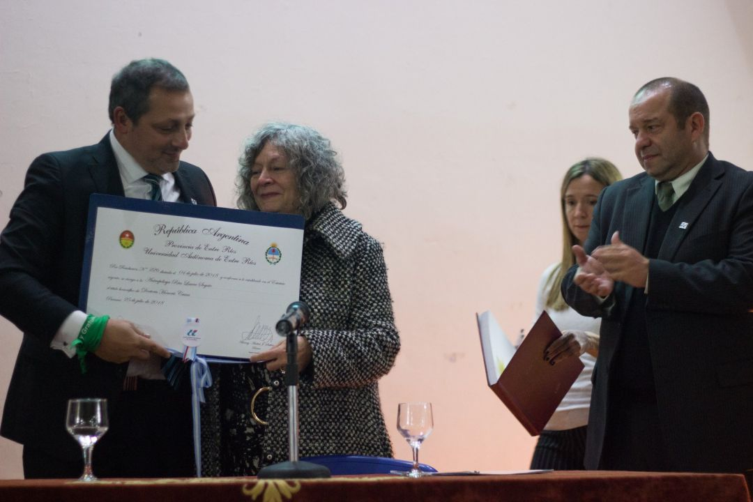 Rita Segato Doctora Honoris Causa