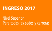 ingresantes 2017 nivel superior