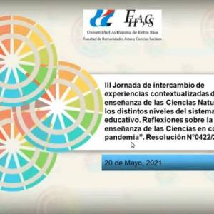 Se realizaron las III Jornadas de Intercambio sobre Enseñanza de las Ciencias Naturales