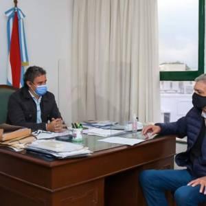 Autoridades de la FHAyCS se reunieron con el Intendente deFederación