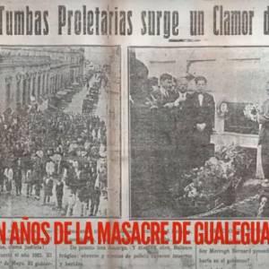Conversatorio «1° de Mayo: A 100 años de la masacre de Gualeguaychú»
