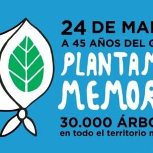 La FHAyCS se suma a la campaña «Plantamos Memoria»