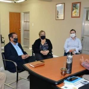Autoridades de la FHAyCS se reunieron con el Intendente de Oro Verde